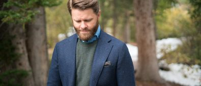 navy suit color styles